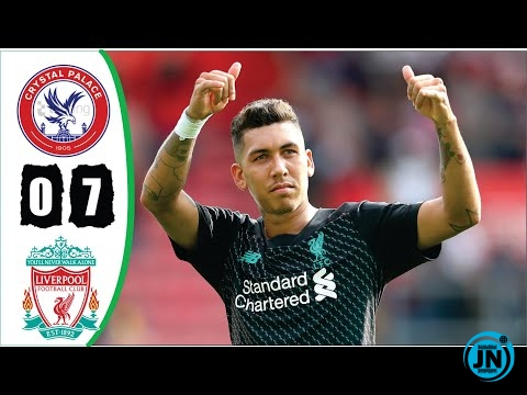 Crystal Palace vs Liverpool 0-7 - All Goals & Extended Highlights 2020